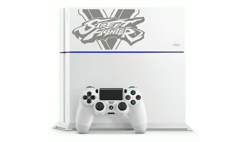 Japan's Getting Four Different Street Fighter V Limited Edition PS4s