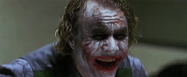 Seeing the Most Infamous Super Villains in Movie History Smile Is So Twisted