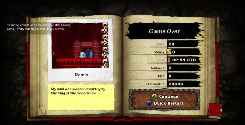 Player Pulls Off Absurd Spelunky Run, Makes It Look Easy