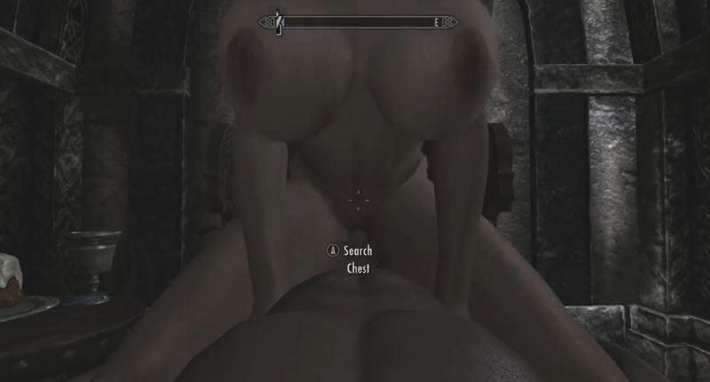 порно в скайриме