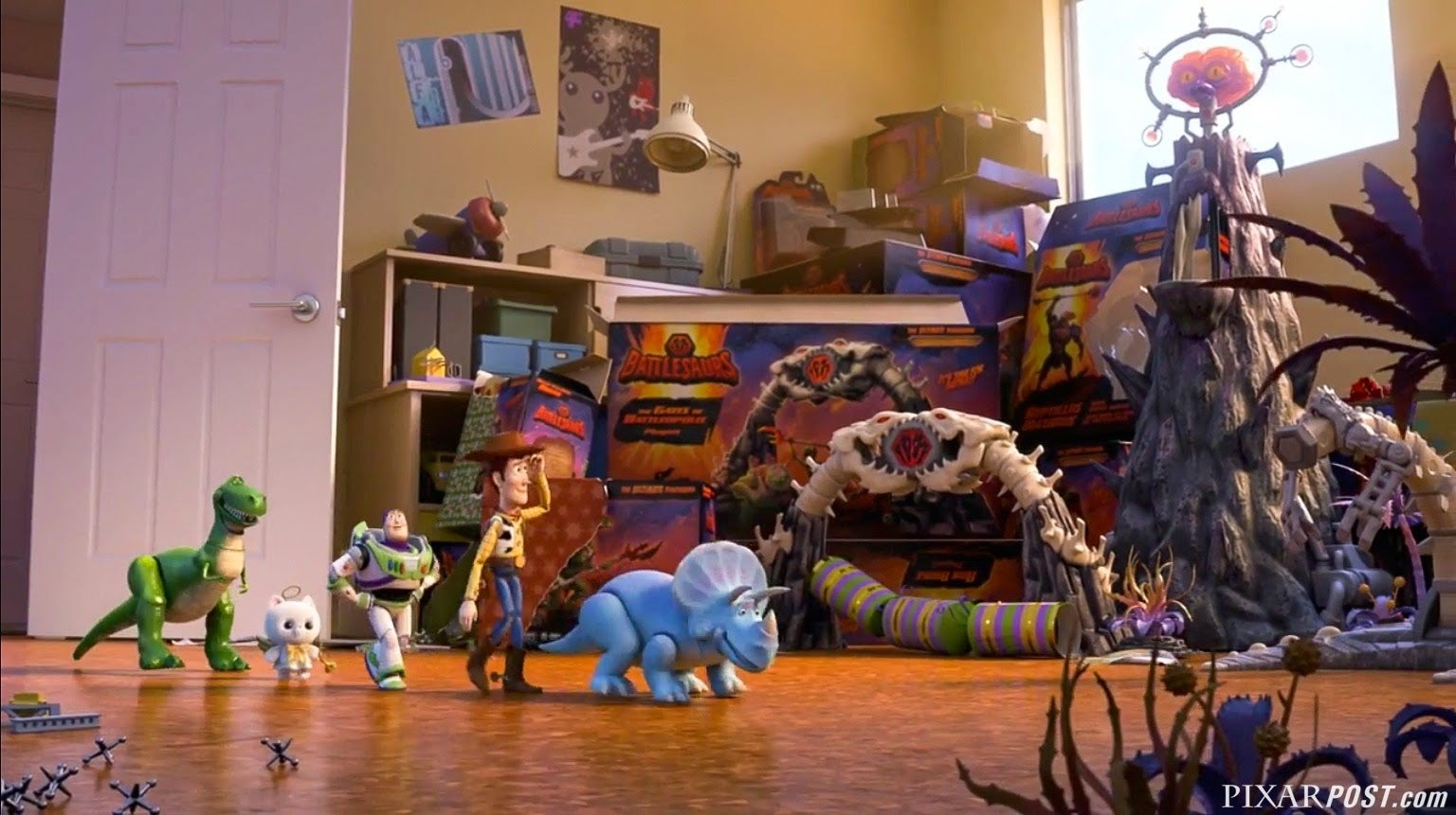 Get a glimpse into the new Toy Story short coming this Christmas