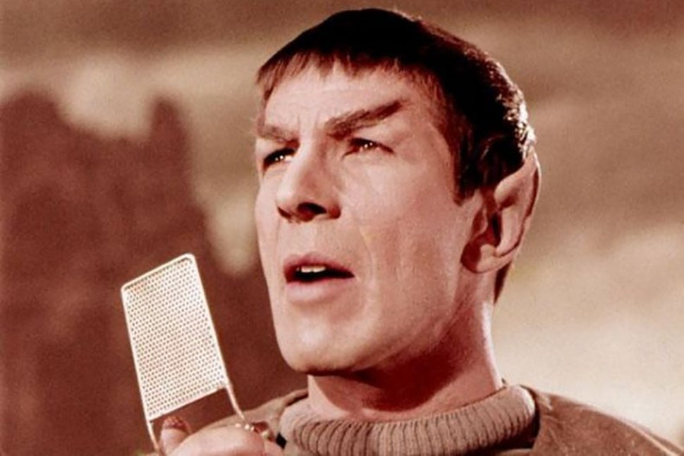 Spock And The Motorola StarTac