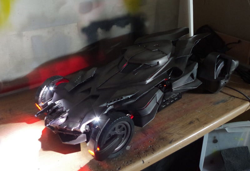 Custom Batmobile Is A PC Case In Disguise