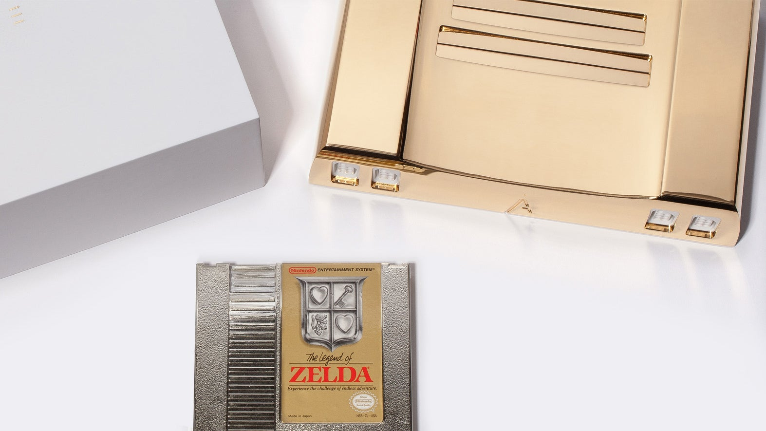 A 24K Gold NES Clone Is The Classiest Way To Celebrate Zelda's 30th Anniversary