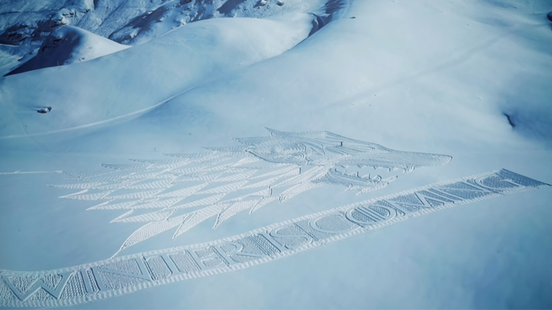 Winter Has Come, But It's Brought This Giant Game of Thrones Art With It