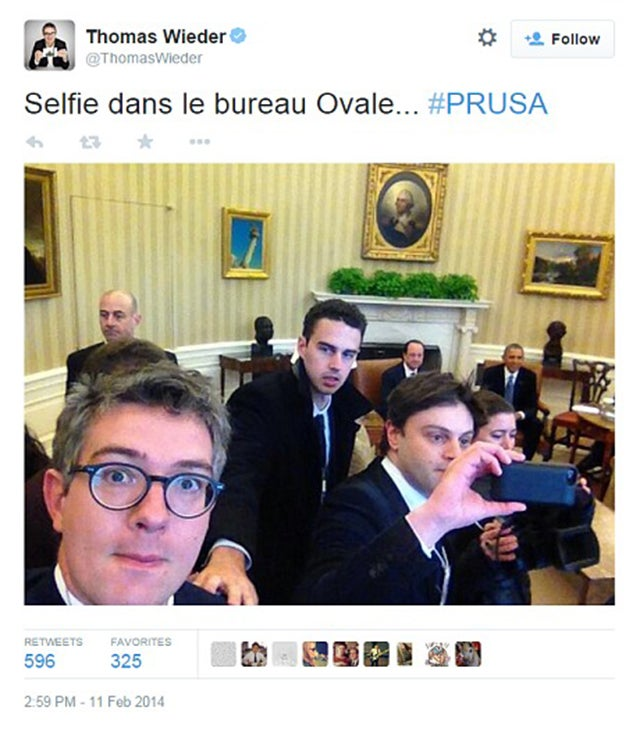 White House: Enough With the Damn Selfies Already