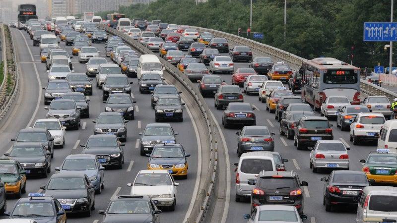 Beijing Blames Uber for Its Obscene Traffic Problem