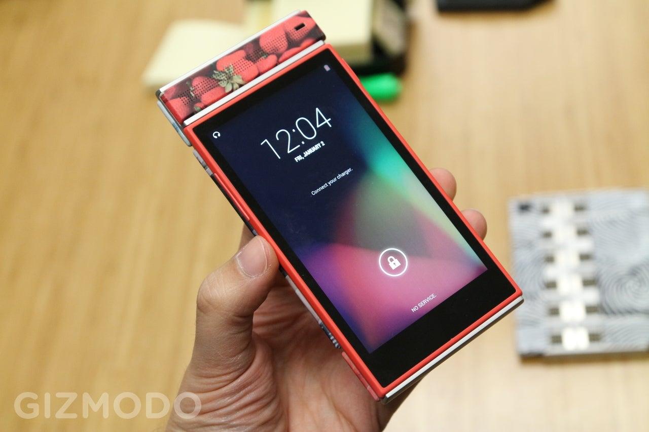 Project Ara Hands-On: Google's Modular Smartphone Sure Is Modular