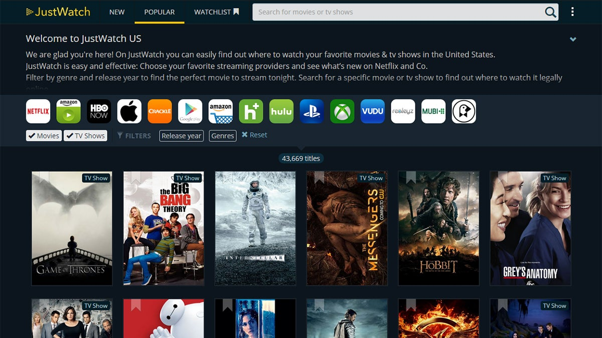 Find Out Which Streaming Service Has That Movie Or TV Show You Want