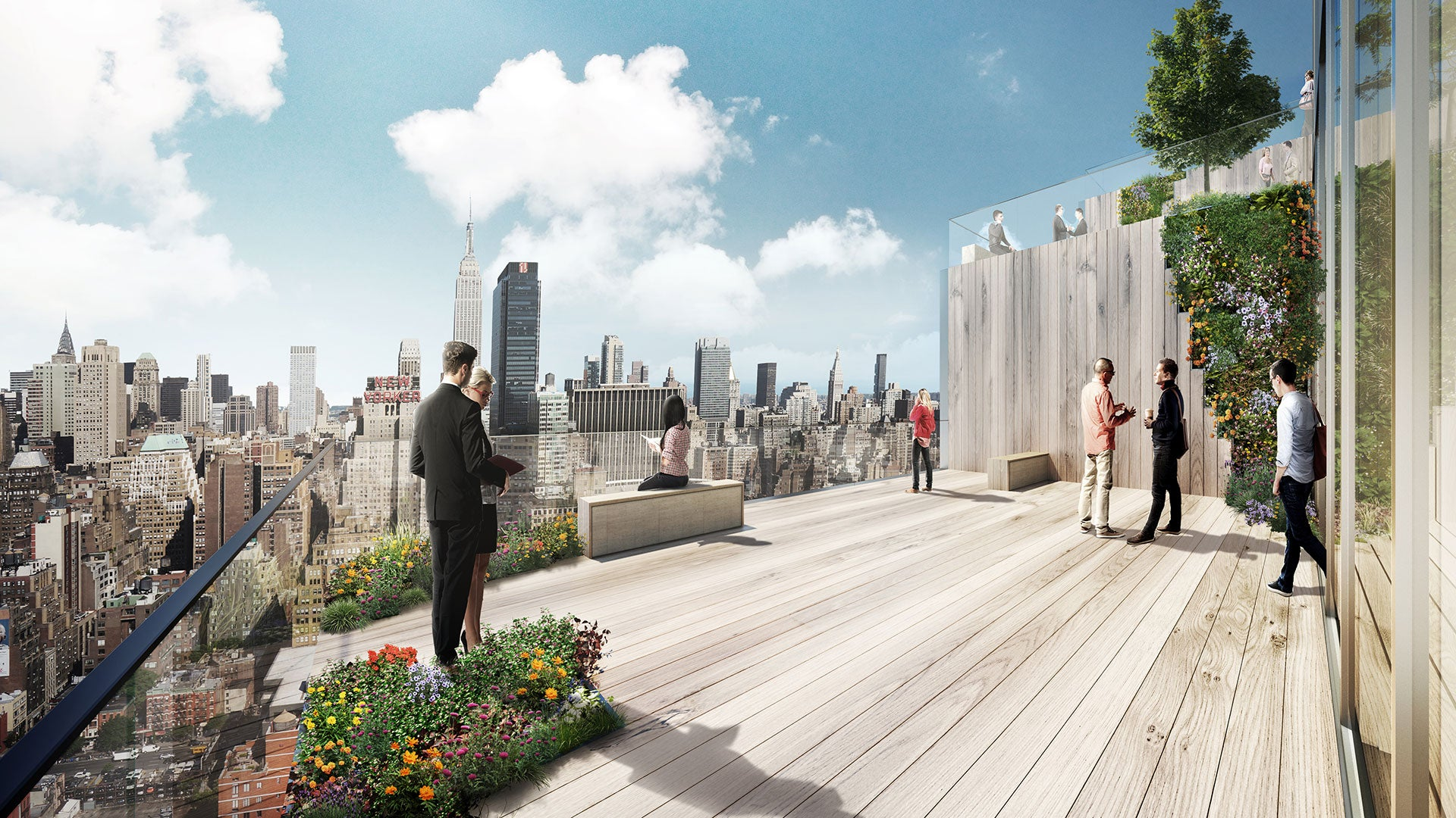 This Twisting Manhattan Tower Will Have a Park on Every Floor