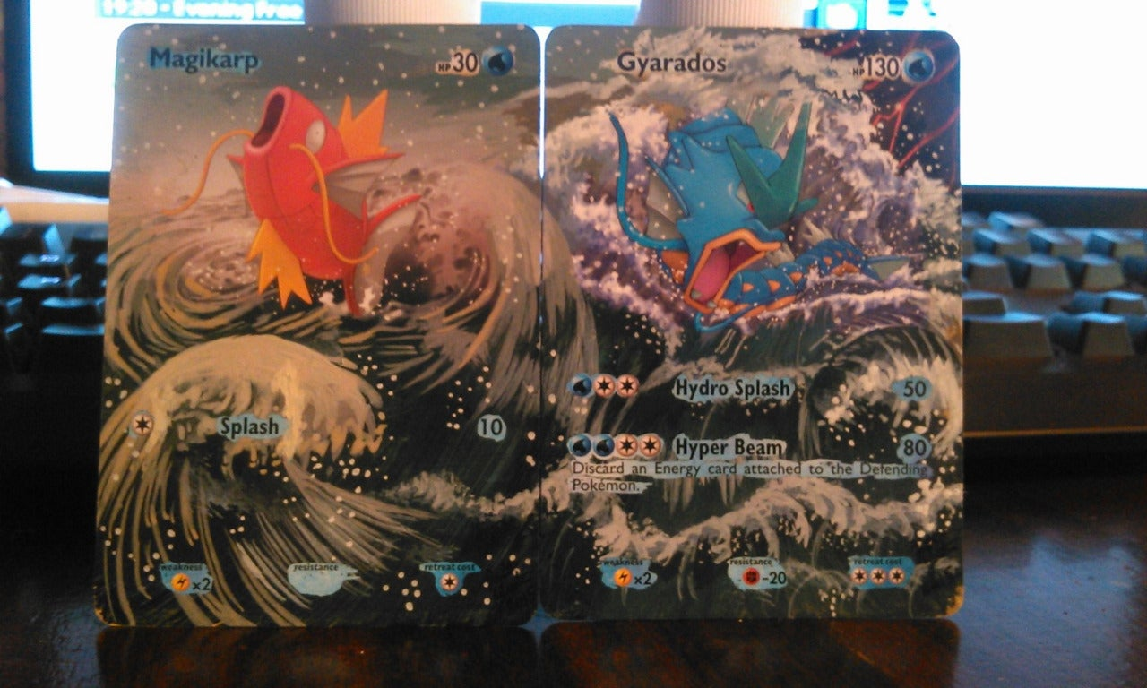 Fan Improves Pokémon Cards With Stunning Custom Backgrounds