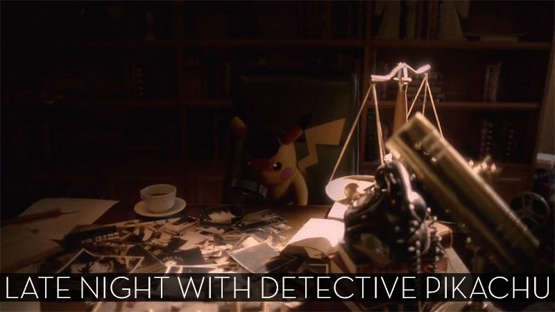 The Up-All-Night Stream Plays Detective Pikachu