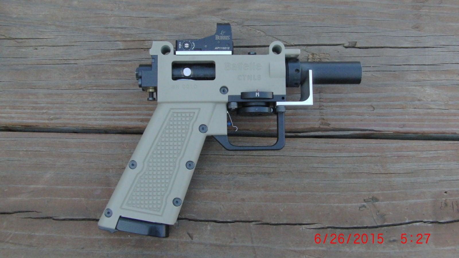 A Variable-Velocity Gun Can Shoot Just Slow Enough to (Hopefully) Not Kill People