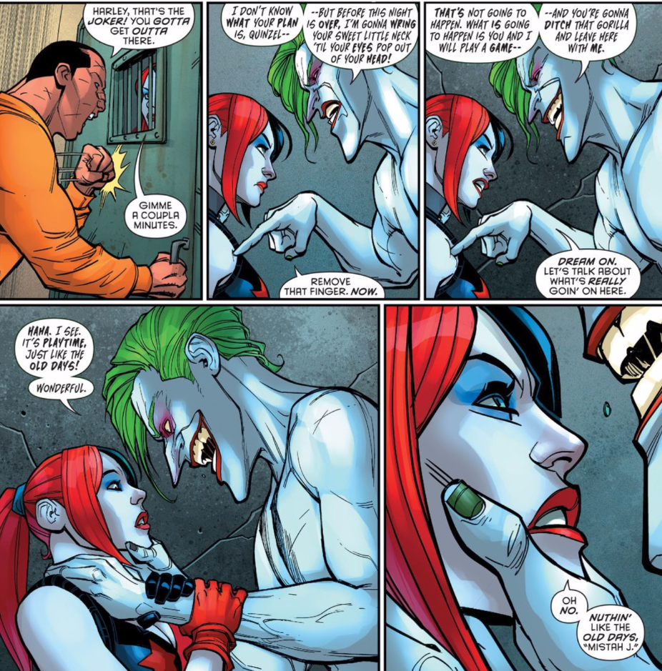 Harley Quinn Finally Gets Closure on Her Relationship with the Joker