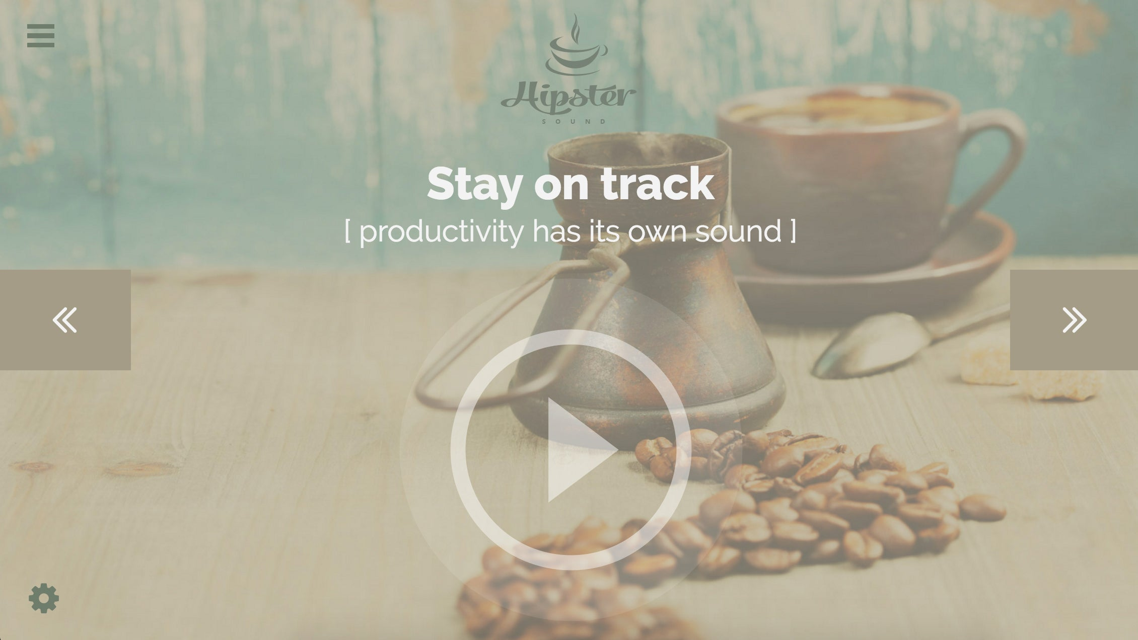 Hipster White Noise Generator Simulates Working In A Crowded Coffee Shop