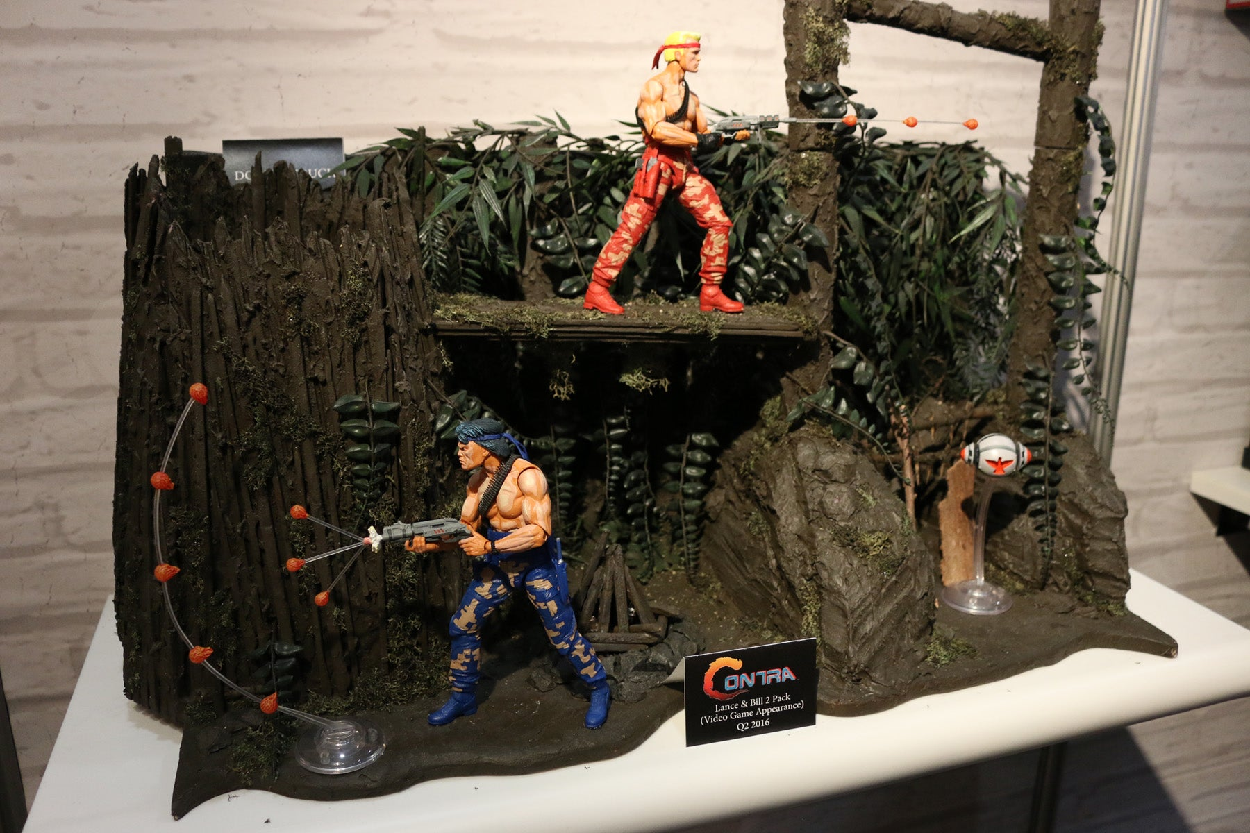 Neca Figures Really Capture Contra's Good Side