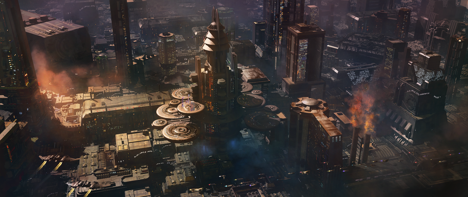 Dune and the fantastic science fiction cities of Finnian MacManus