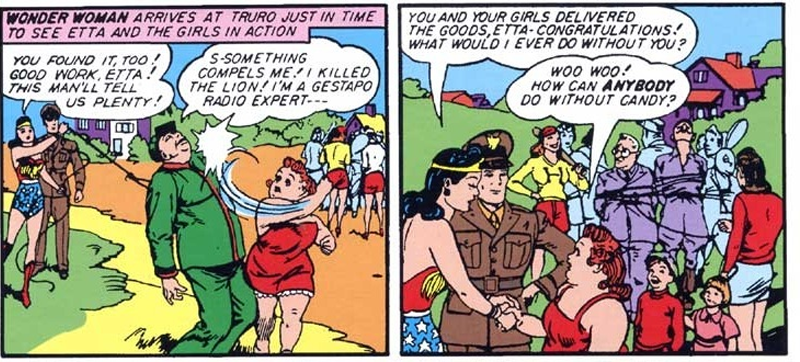 The Wonder Woman Movie Adds Etta Candy, Diana's Best Friend and a Total Badass