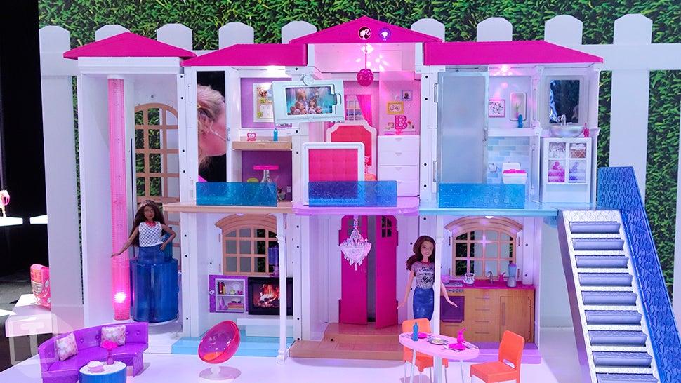 Barbie Now Has An Entire Smart Dream House That Responds