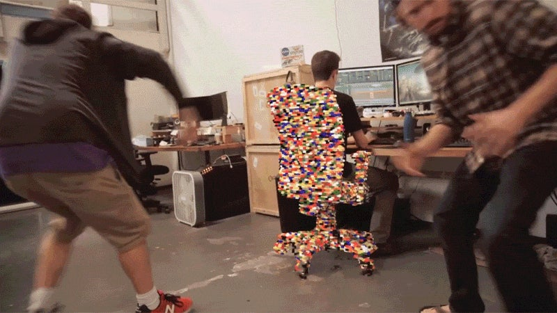 Running Around With LEGO Superpowers Would Be Pretty Inconvenient