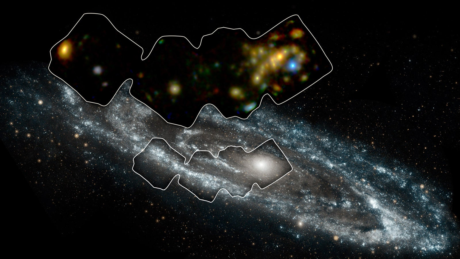 The Best Ever View of Our Closest Neighbouring Galaxy Has Something Very Strange In It