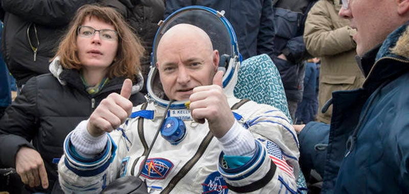 Astronaut Scott Kelly Made It Safely Back to Earth