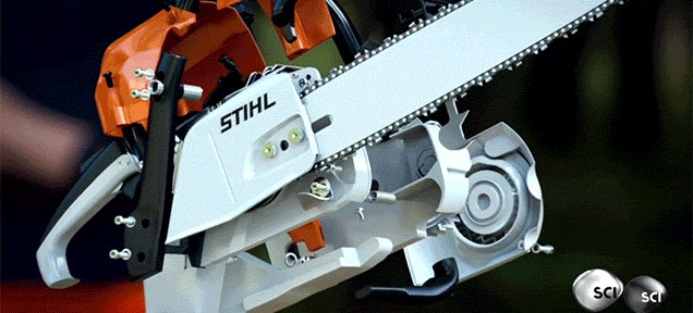Video: Dissecting a Chainsaw