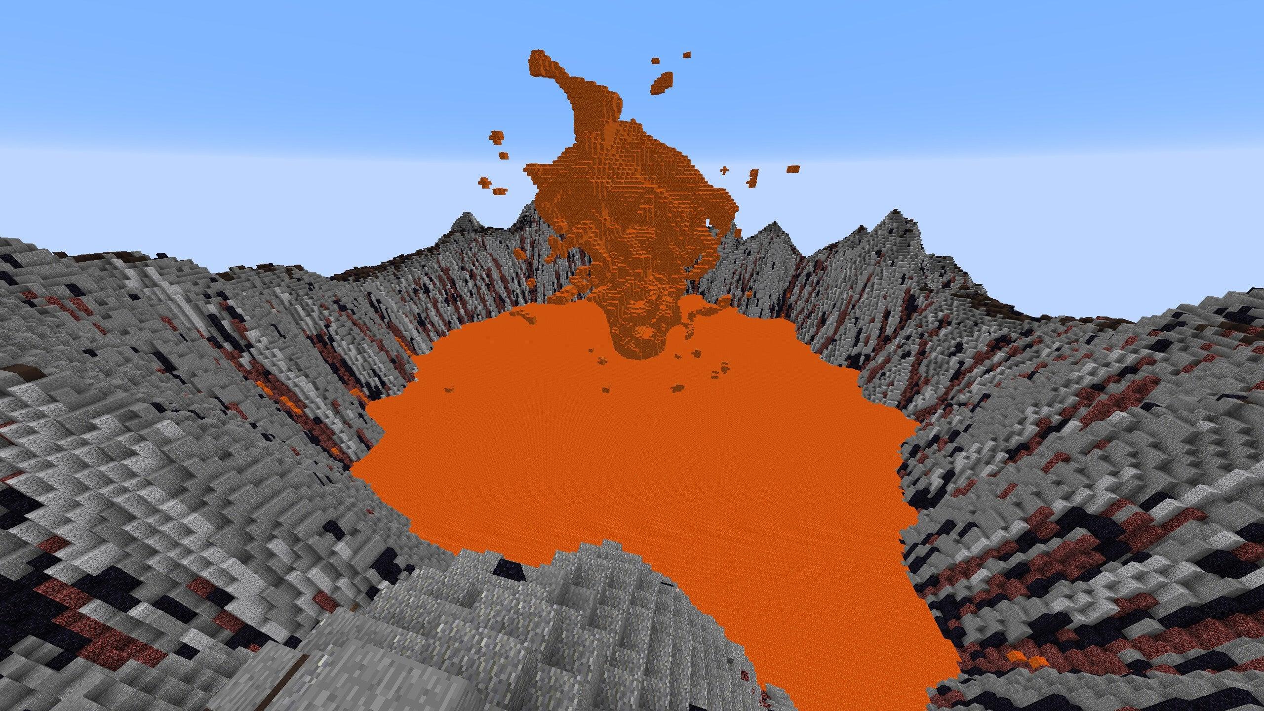 yellowstone volcano eruption map with Minecraft Map Is Basically 36 Square Kilometres Of Primal Beauty on Gran Fuente Prismatica En El Parque Yellowstone together with Fs027 00 as well Minecraft Map Is Basically 36 Square Kilometres Of Primal Beauty further Volcanos together with Fs100 03.