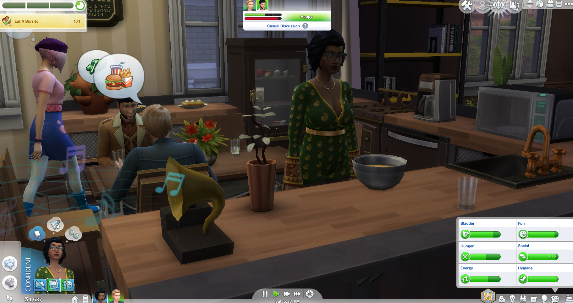 how to give someone an apartment key sims 4