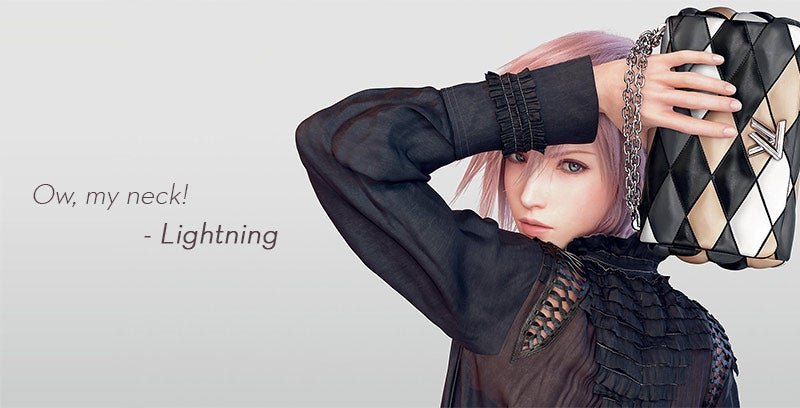 Louis Vuitton Interview With Final Fantasy's Lightning Should Be Canon