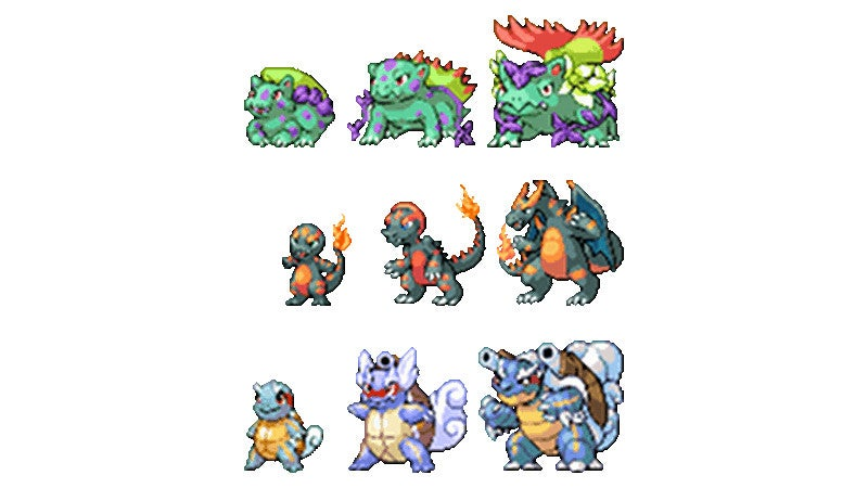 The Original Starter Pokémon, Re-Imagined