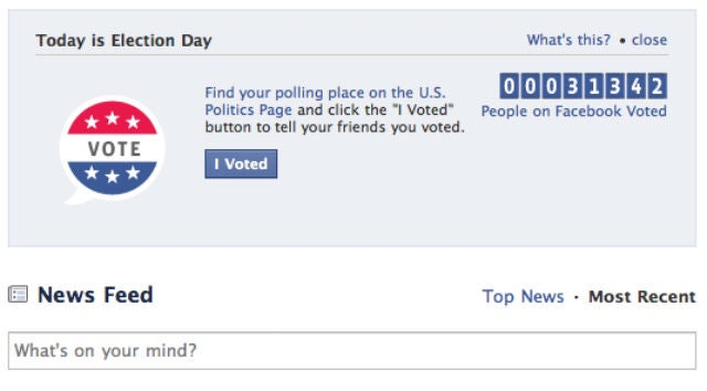 Facebook's History of Experiments That Try to Make You Vote