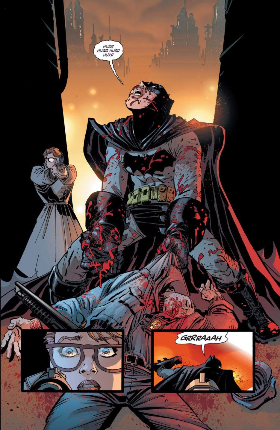 The New Dark Knight Series Isn't Really a Batman Comic Anymore