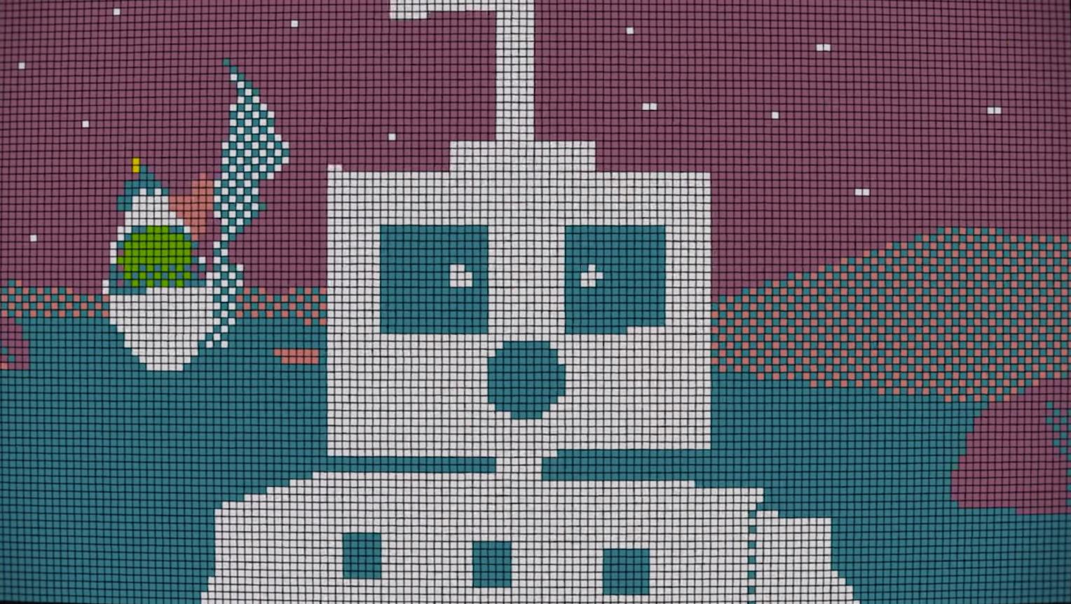 A Robot Love Story Built Of A Thousand Rubik's Cubes