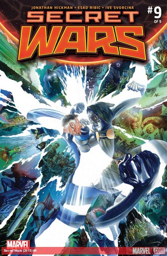 Secret Wars' Finale Says Goodbye to the Marvel Comics of Old