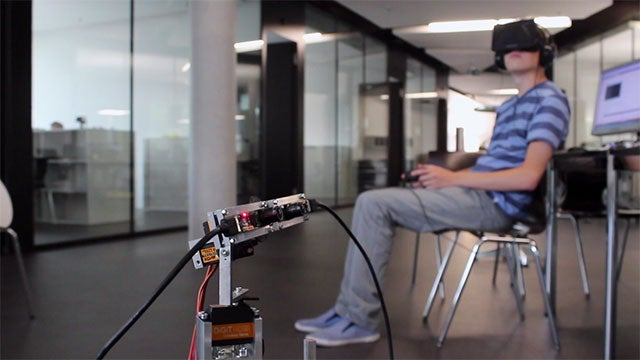 An Oculus Rift-Controlled Robot Is Awesome (and Also Adorable)