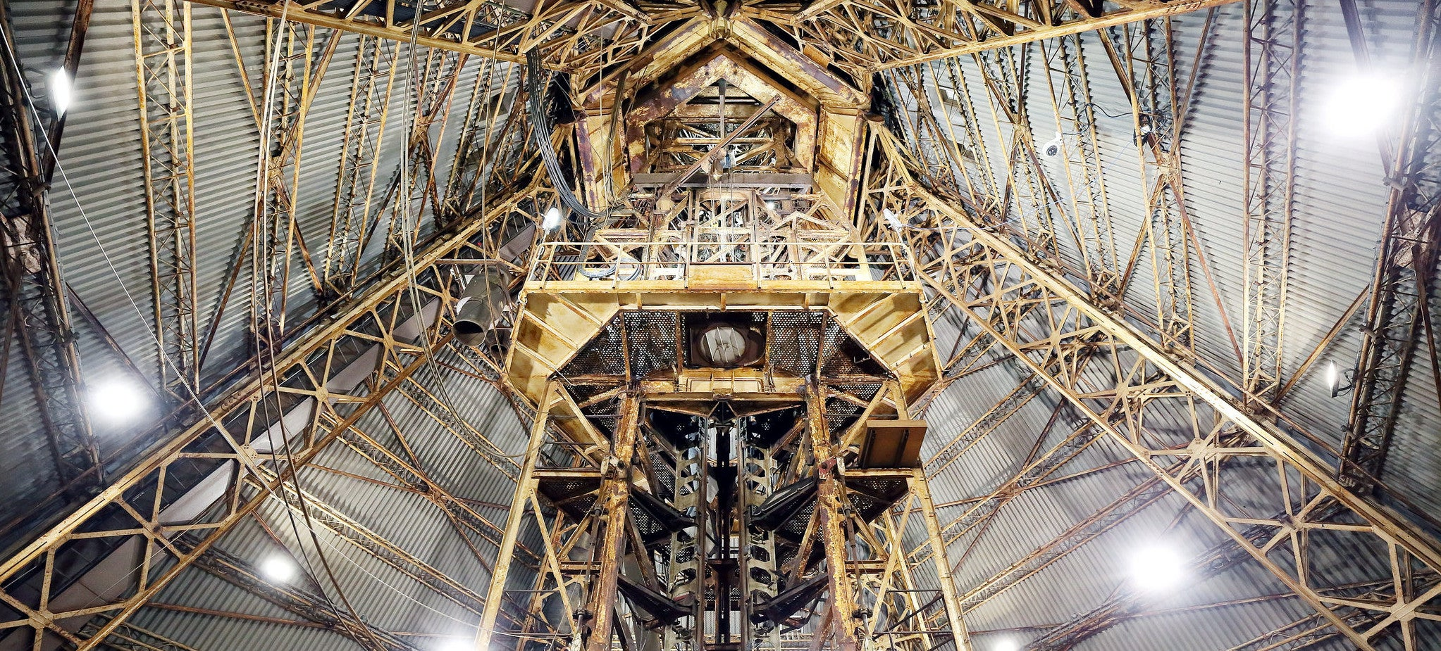 Peer Up Inside This Rocket Launch Tower