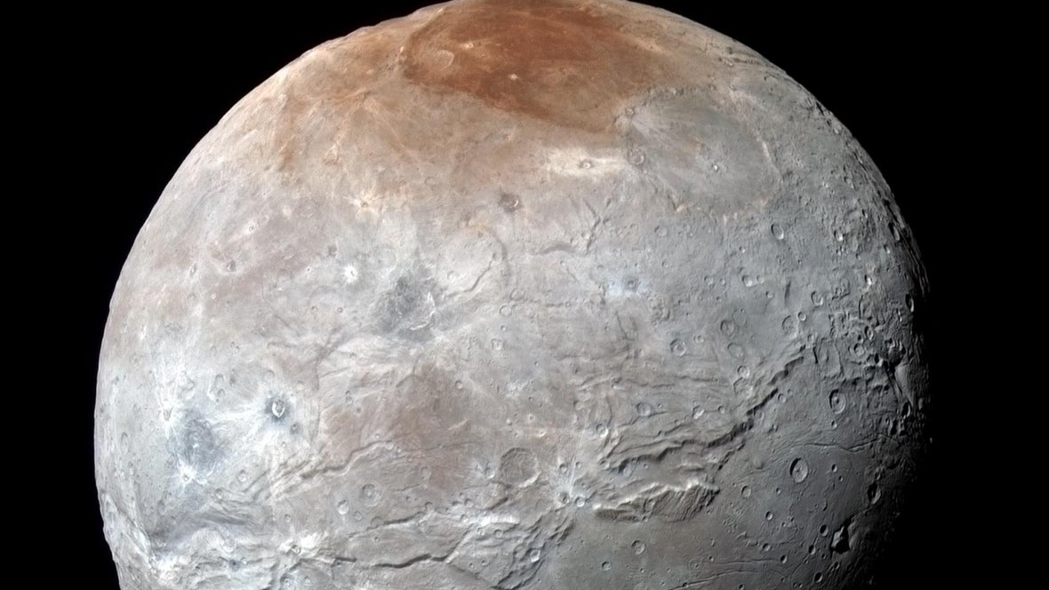 Frozen Oceans May Have Burst Through the Surface of Pluto's Largest Moon