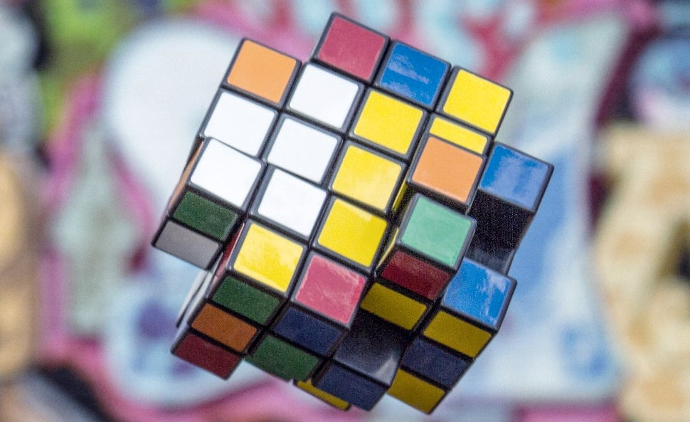 If Evil Were a Puzzle, It Would Look Like This X-Shaped Rubik's Cube