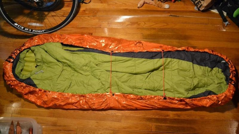 Camp Warmer and Dryer with this DIY Semi-Bivy