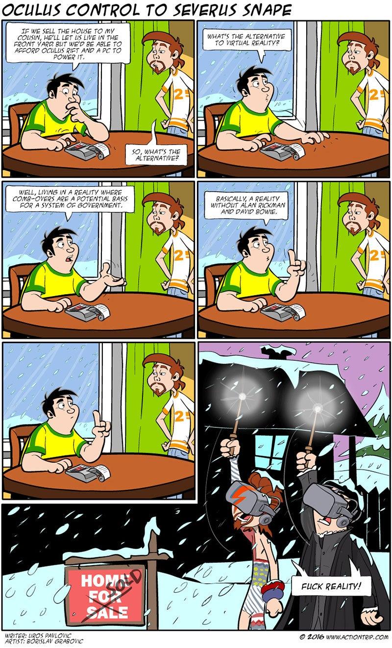 Sunday Comics: It's Not Like Anyone's Getting Hurt