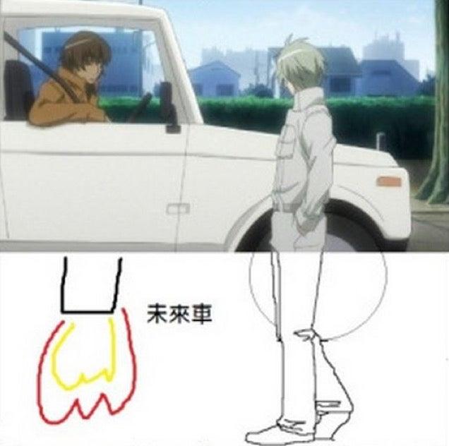 Trying to Explain an Awkward Anime Image