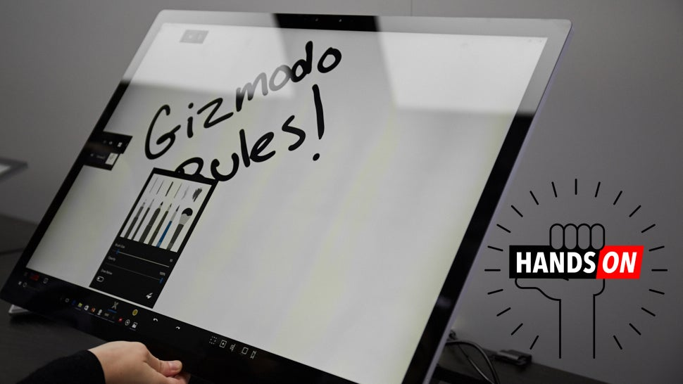 Surface Studio Hands On: Touched For The Very First Time