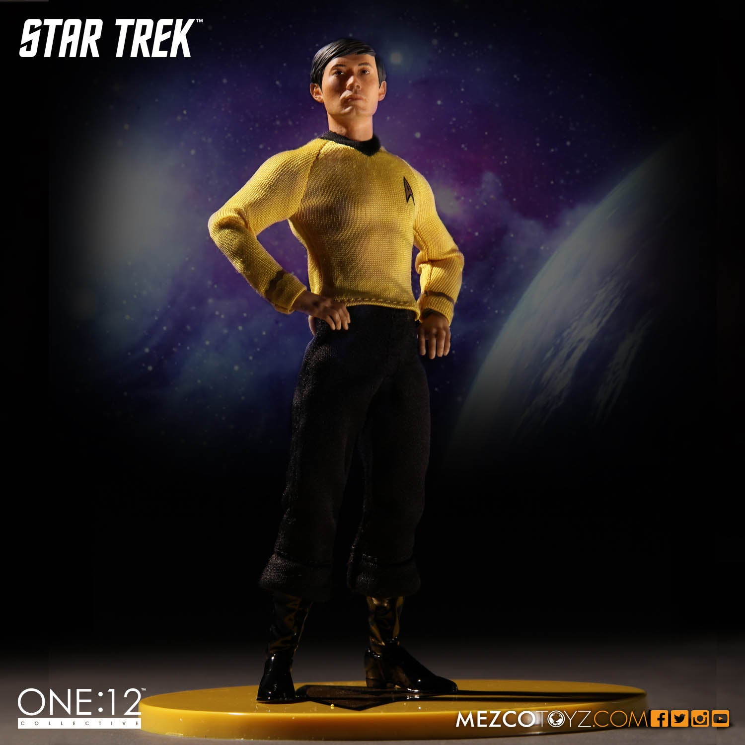What Happened To Sulu's Face On Mezco's New Star Trek Toy?