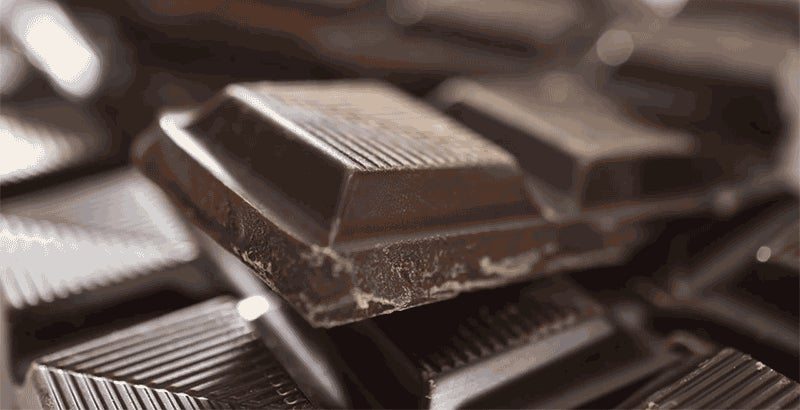 Chocolate Looks Like a Delicious Alien World Under a Powerful Microscope