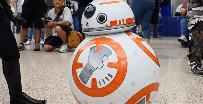 BB-8 Cosplay Is Cute Enough To Kill Stars