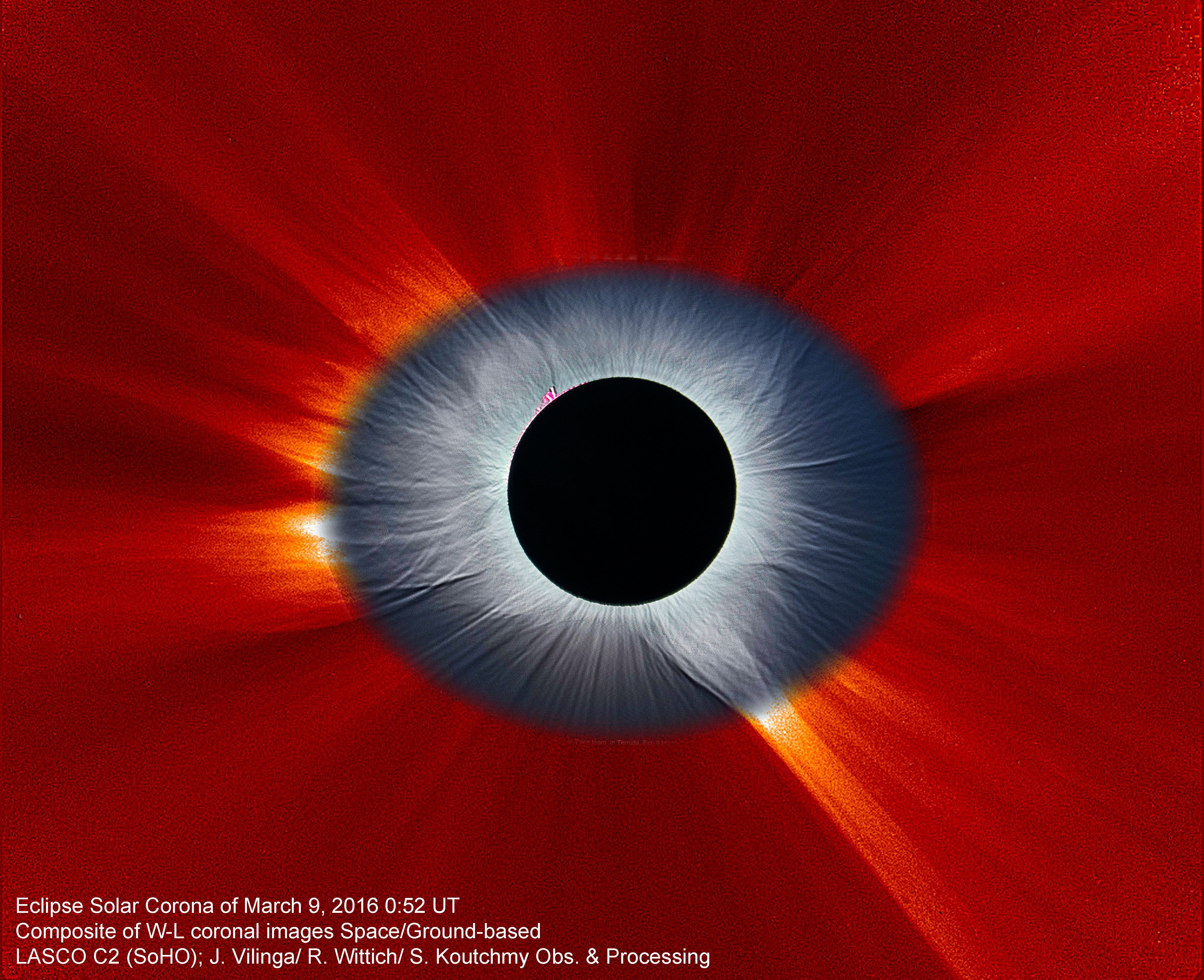 Stunning Solar Eclipse Image Looks Like the Eye of our Solar System