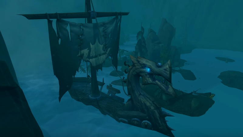 New World of Warcraft: Legion Dungeon Is A Ride On A Giant Ghost Ship