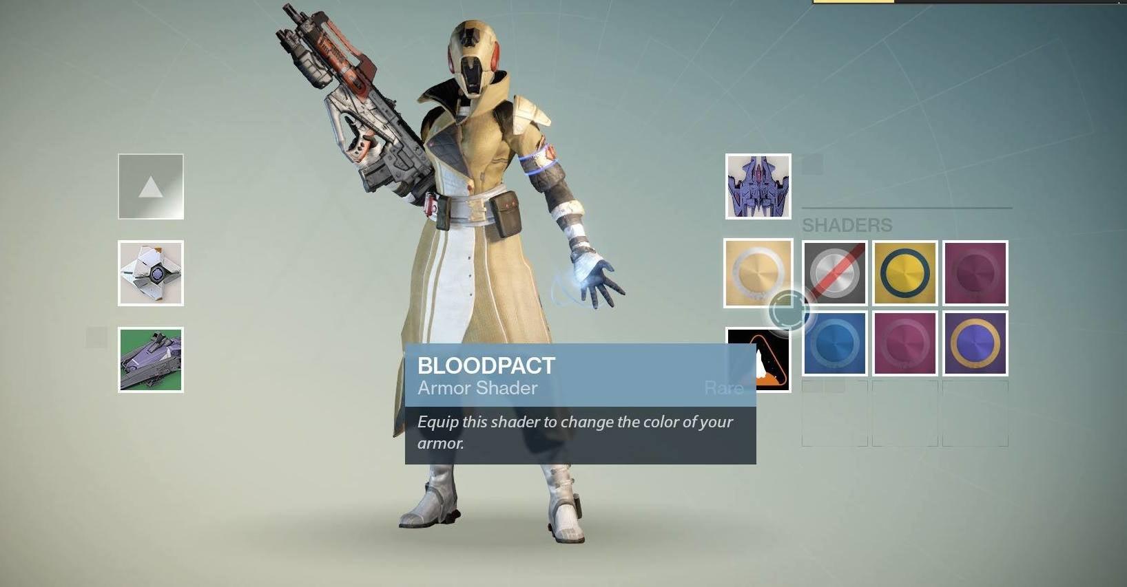 Banshee double destiny shader