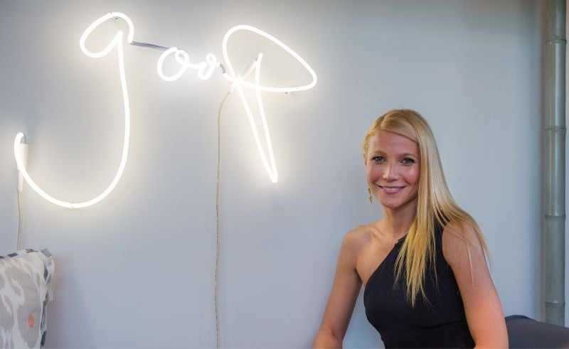 Gwyneth Paltrow's Goop Consults 'Fat Flush' Diet Quack About 'Cell Phone Toxicity'